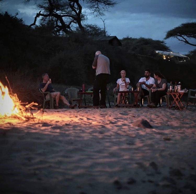Bush TV - Sat around the Campfire in Kenya