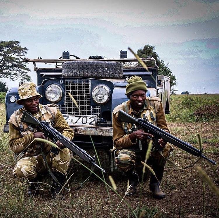 Anti-Poaching Units on a Land Rover Safari in Kenya - Sandgrouse Travel