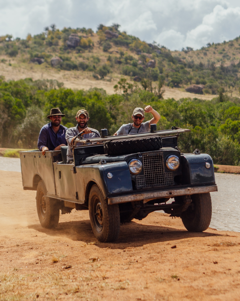 Land Rover safaris in Africa - Series 1 and Series 2 Land Rover hire Africa