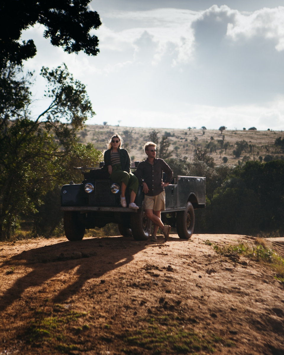 The ultimate African safari - self drive a series Land Rover in the bush with Sandgrouse Travel