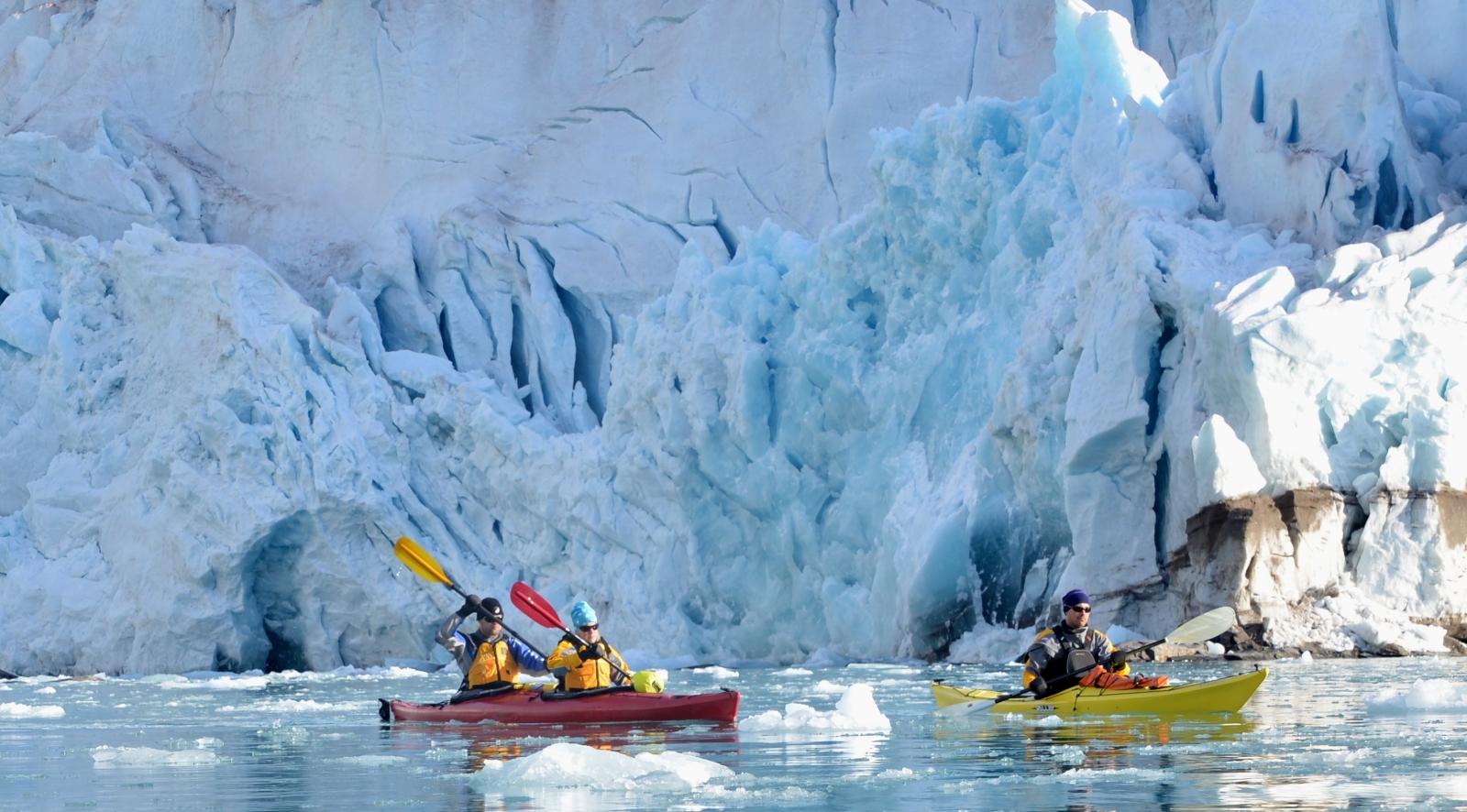 Kayaking Svalbard, Arctic Kayaking, Kayaking Holiday