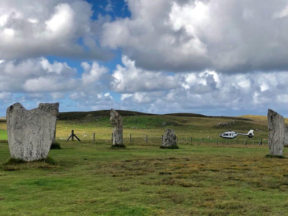 Parking up at some of Scotland's standing stones