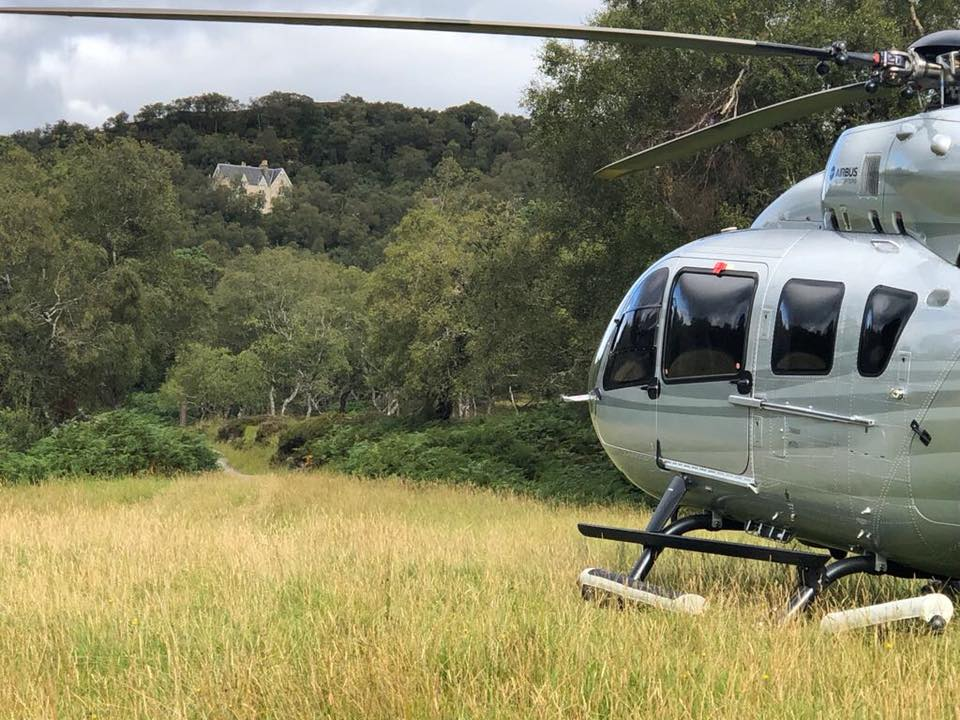Helicopter Flights Scotland - Helicopter Travel Scotland