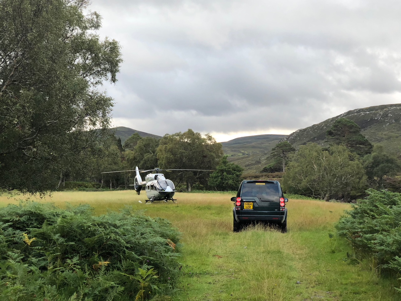 Scotland Private Helicopter Flights
