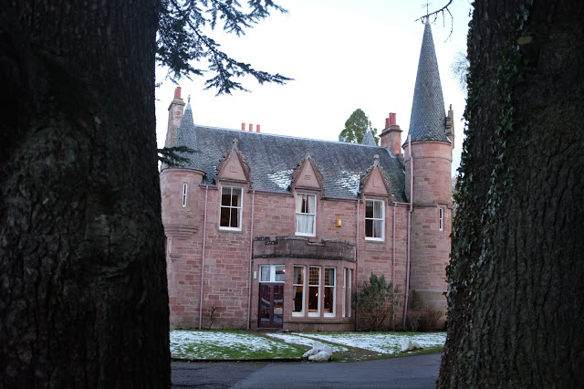 The original side of Bunchrew House