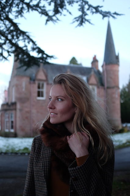 Luxury Hotel, Bunchrew House with Solveig In Scotland