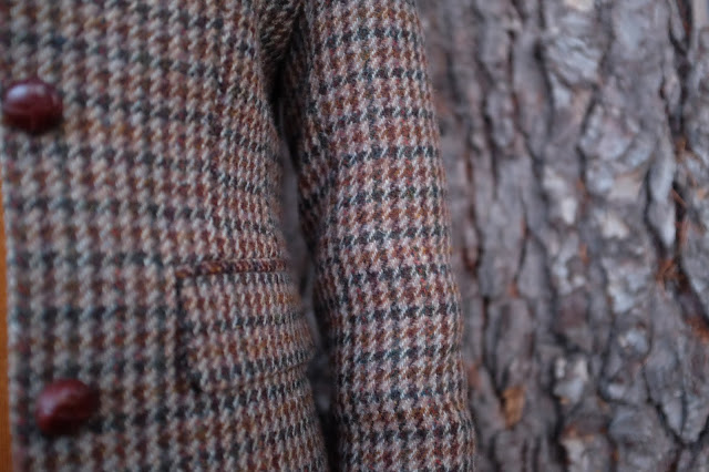 Ancient gardens and traditional Scottish tweeds