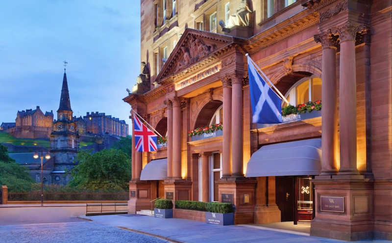 Caledonian Waldorf Astoria Edinburgh with Sandgrouse Travel