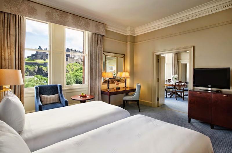 Luxury Edinburgh hotels with Sandgrouse Travel - Luxury Scotland