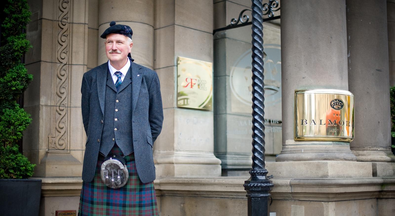 Welcome to The Balmoral Hotel, Edinburgh