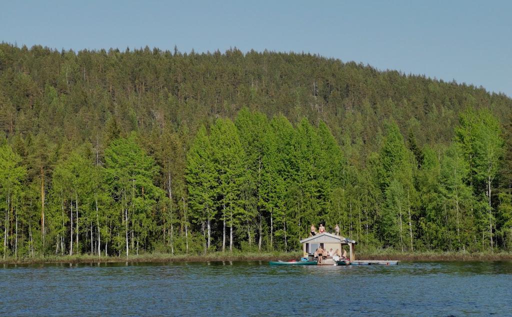Swedish Saunas on the Lake - Luxury Swedish Holidays to Remember