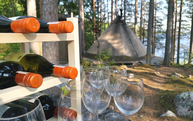 Summer Camping in Sweden with Sandgrouse Travel