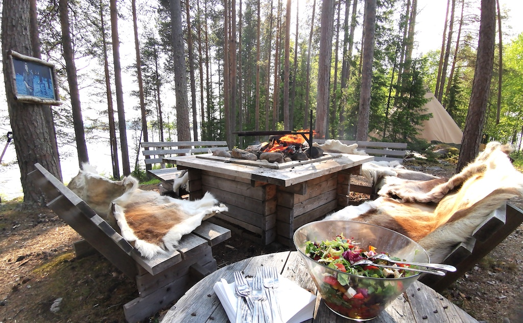 Sit around the campfire in Sweden this summer! Your family could be here.
