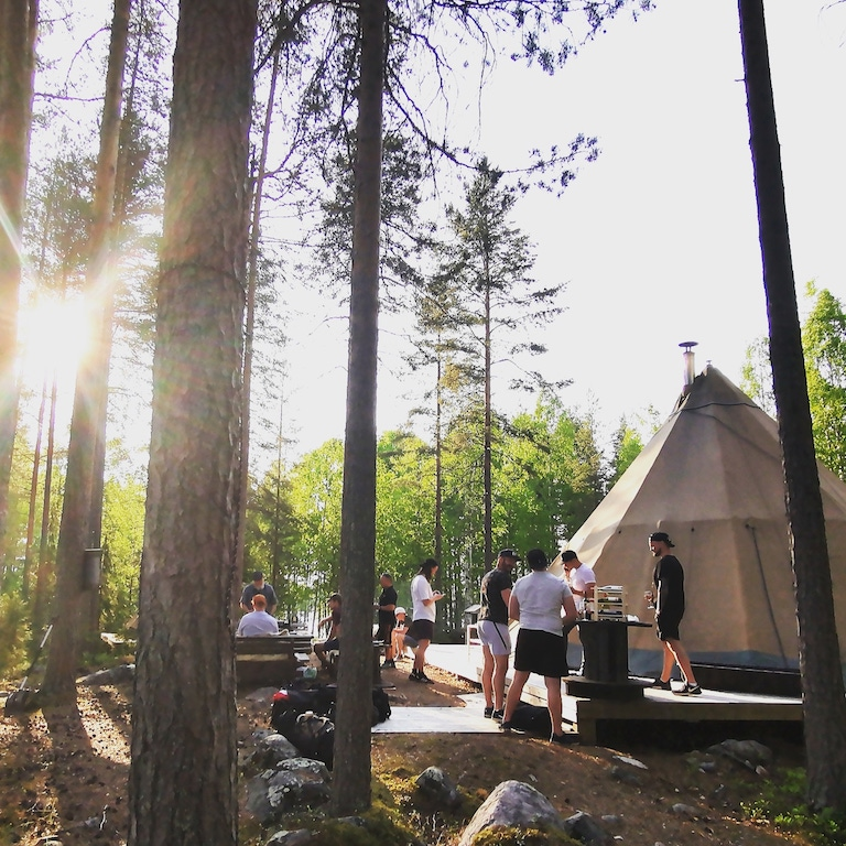 Camping in Sweden in the Summer - Family Holiday in Sweden