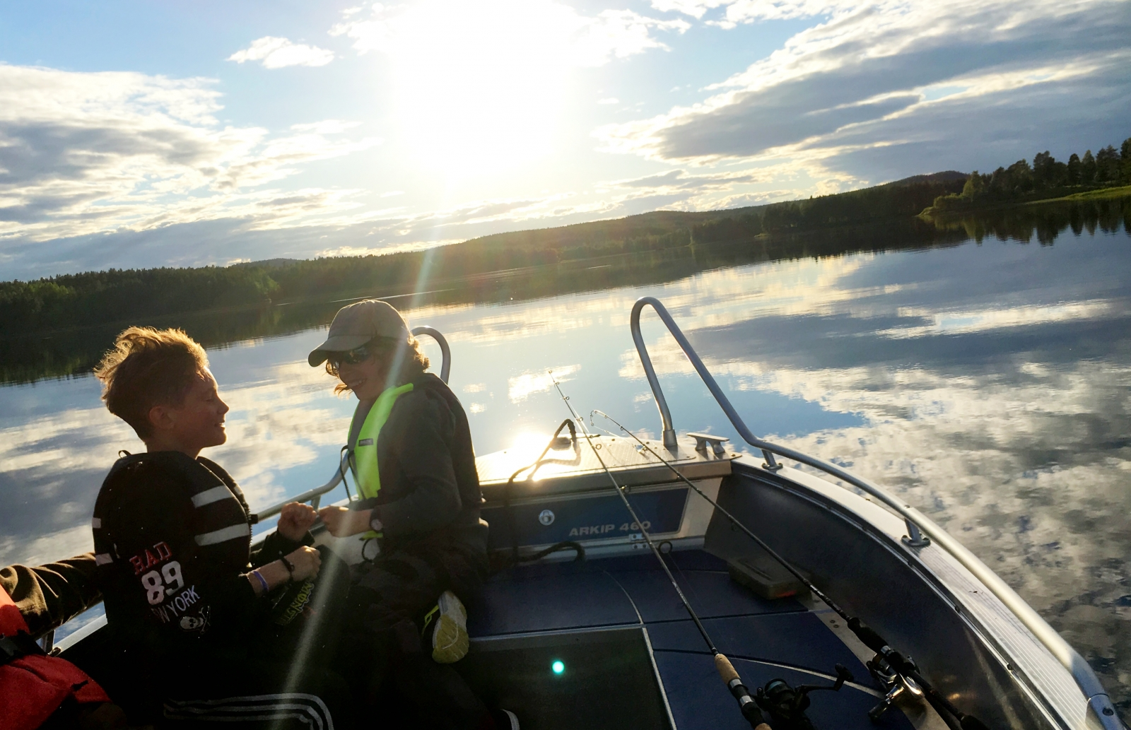 Fishing in Lapland with the family! Dream Summer Holidays