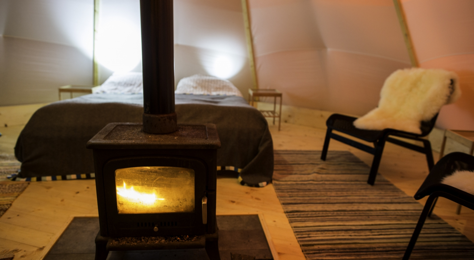 Luxury Glamping in Swedish Lapland - Sweden Glamping Holidays