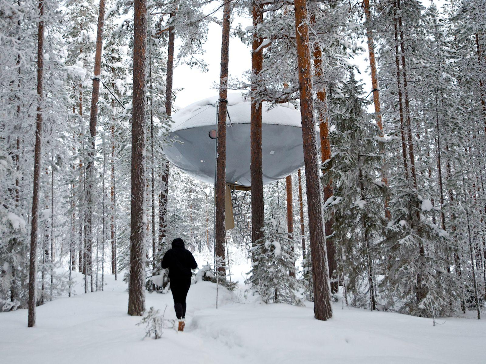 UFO Treehotel!