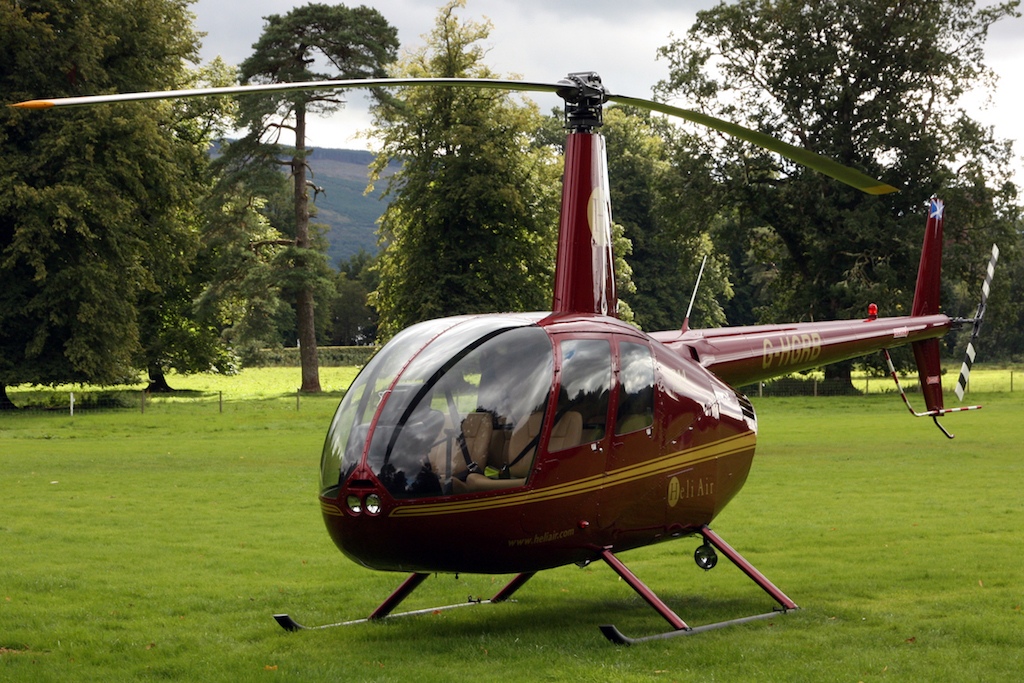 Inverlochy Castle by Private Helicopter Transfer