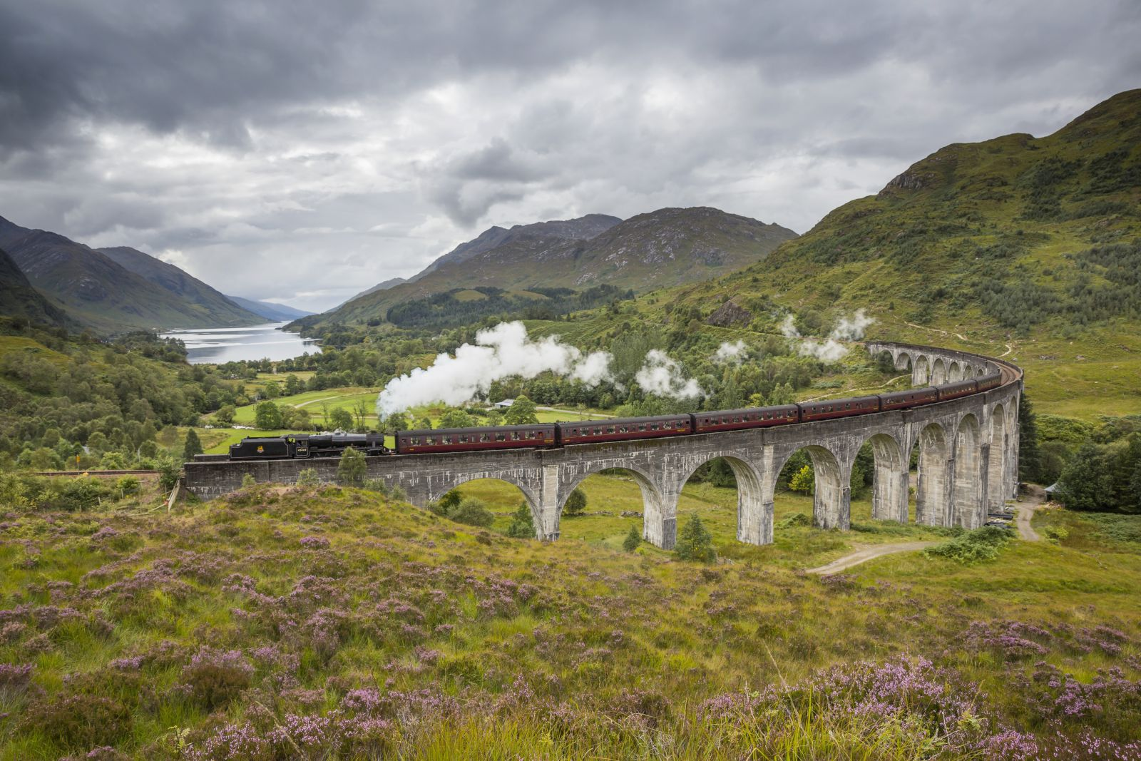 Fly over the Hogwarts Express with Sandgrouse Travel VIP Helicopter Tours