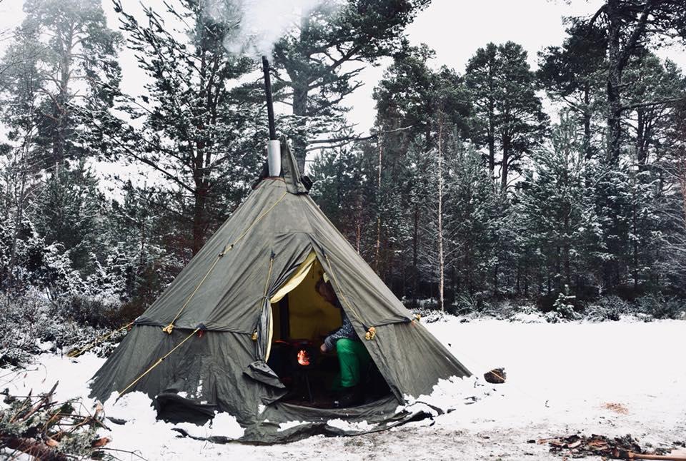 Scotland Wild Sleeps - Hot Tenting