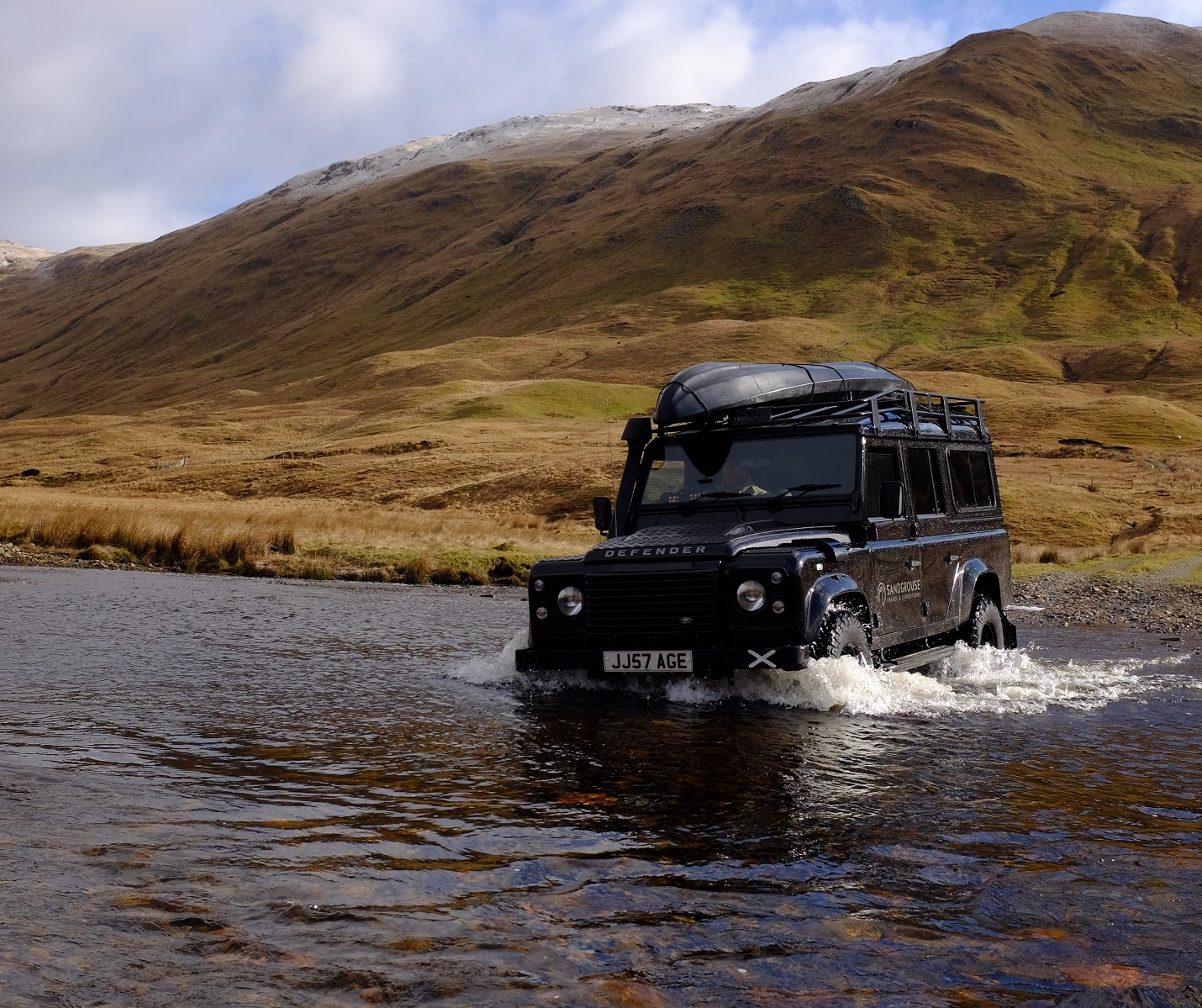 Land Rover off road Scotland