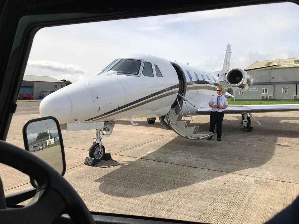 Charter Jet to Scotland with Sandgrouse Travel & Expeditions