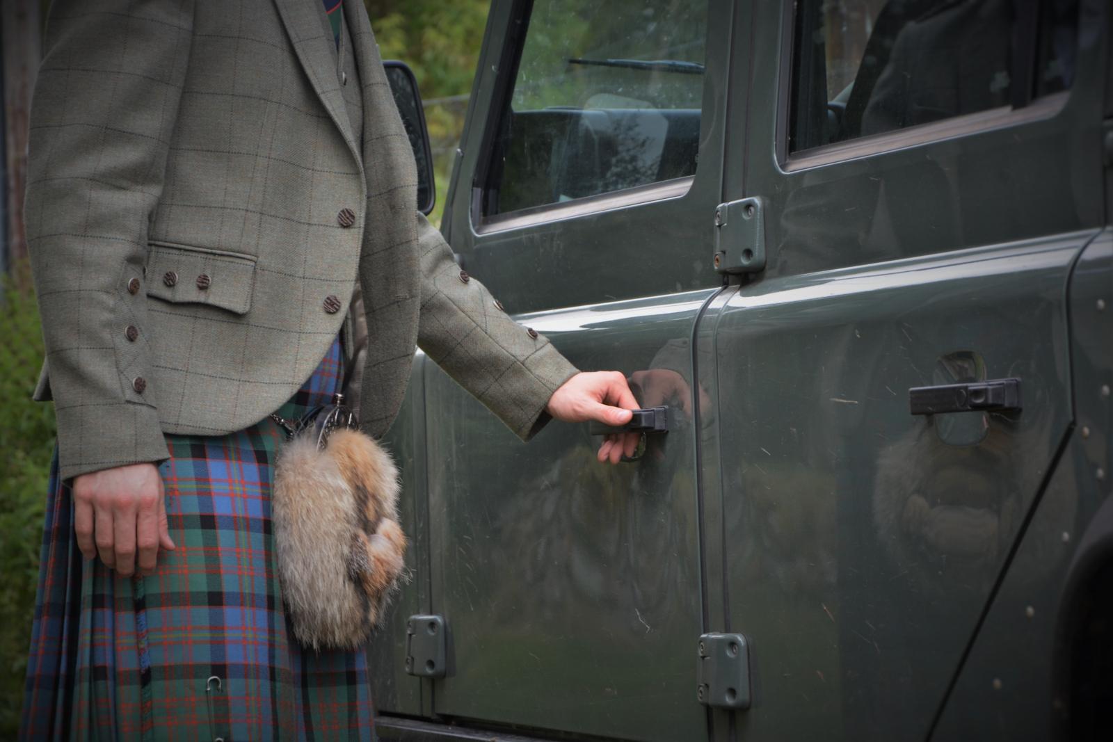 Luxury Land Rover Holiday Scotland