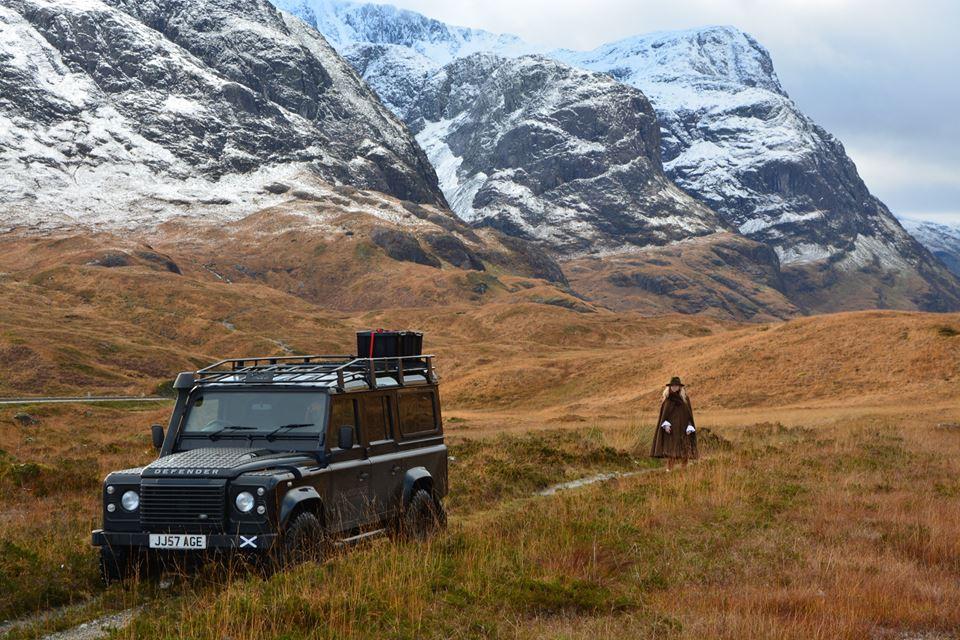 Land Rover tours in Scotland - Glen Coe