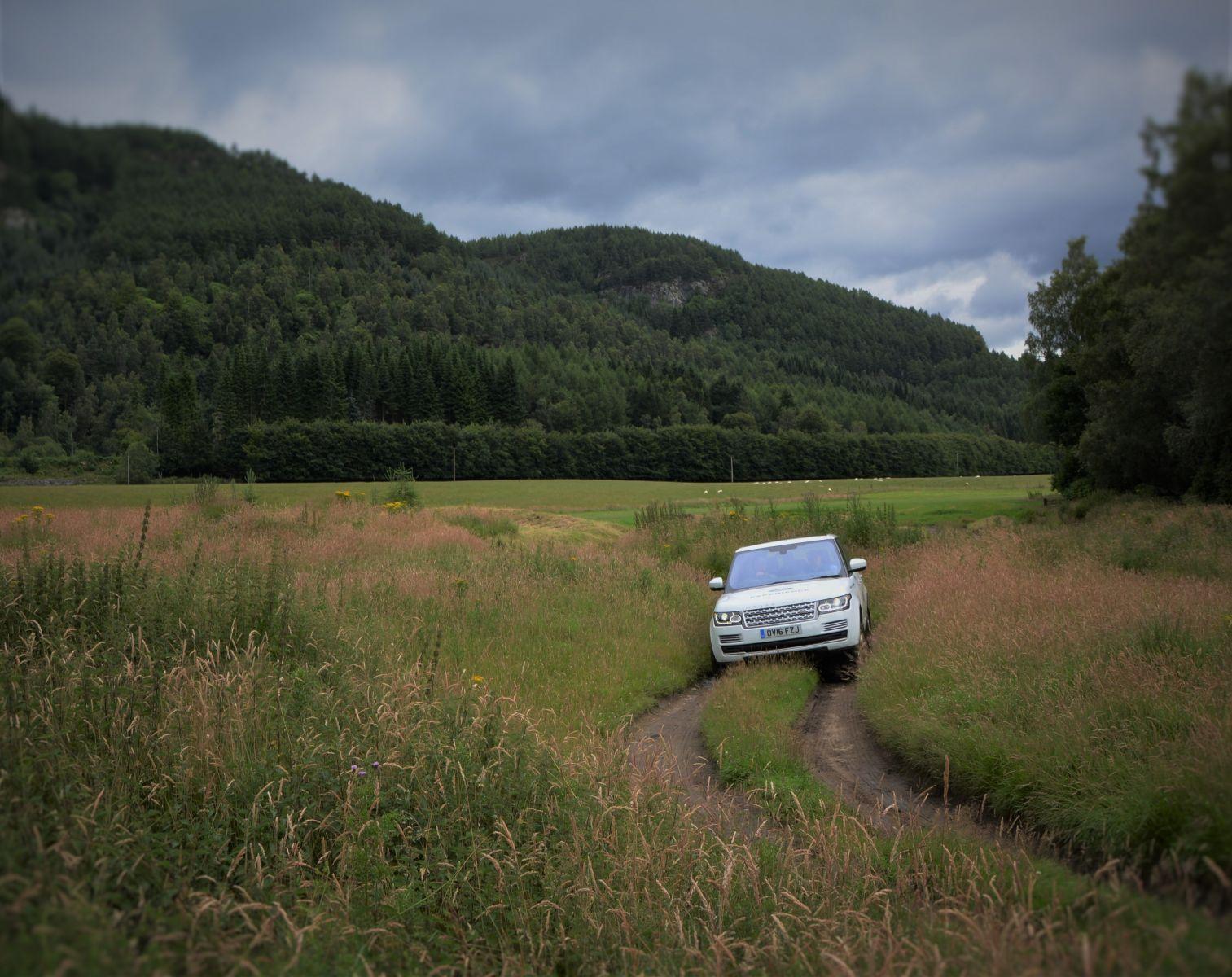 Land Rover Experience Scotland Range Rover