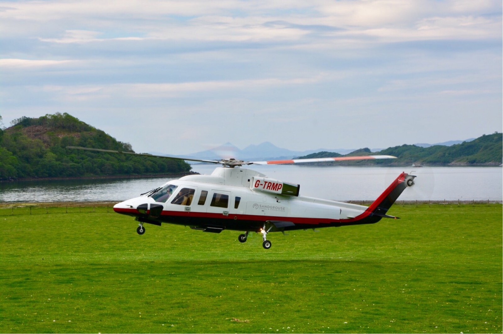 Luxury Helicopter Scotland, Helicopter Tours Scotland, Helicopter travel Scotland