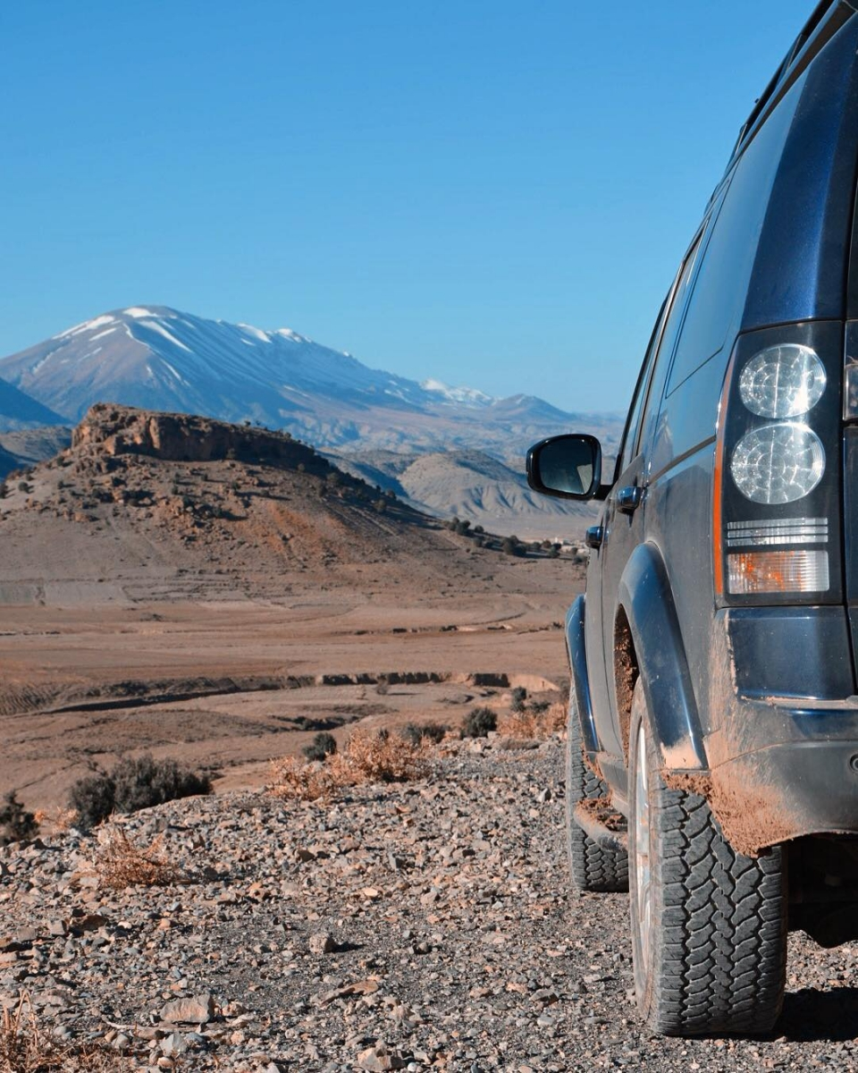 North of the Atlas Mountains - Land Rover trips in North Africa with Sandgrouse Travel