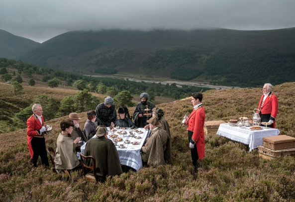 Queen Victoria and guests enjoy a Highland Picnic on the Balmoral Estate