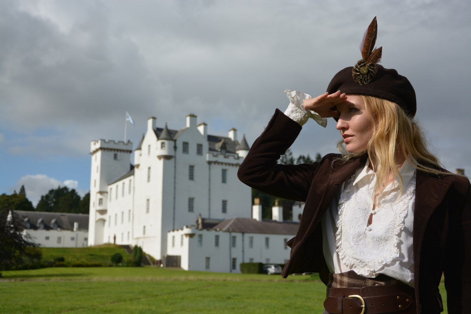 Blair Castle in Perthshire - Atholl Estates Luxury Scotland with Sandgrouse Travel