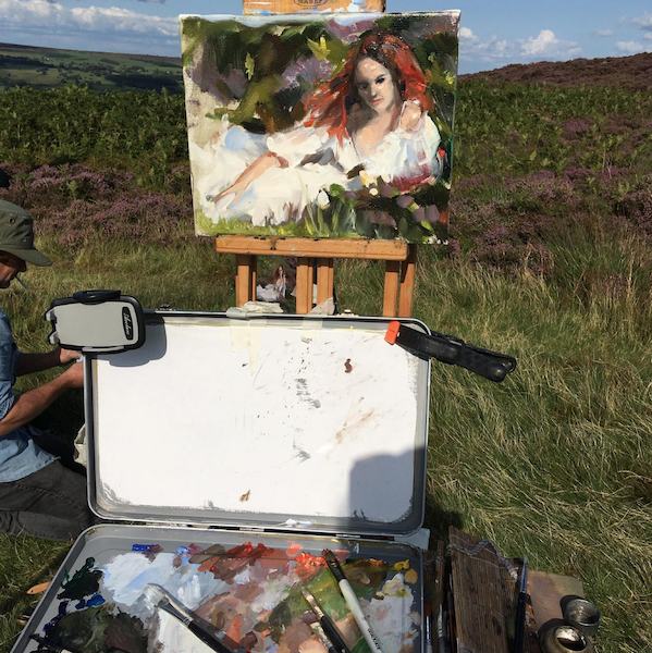 Painting in Scotland - Scottish Art trips