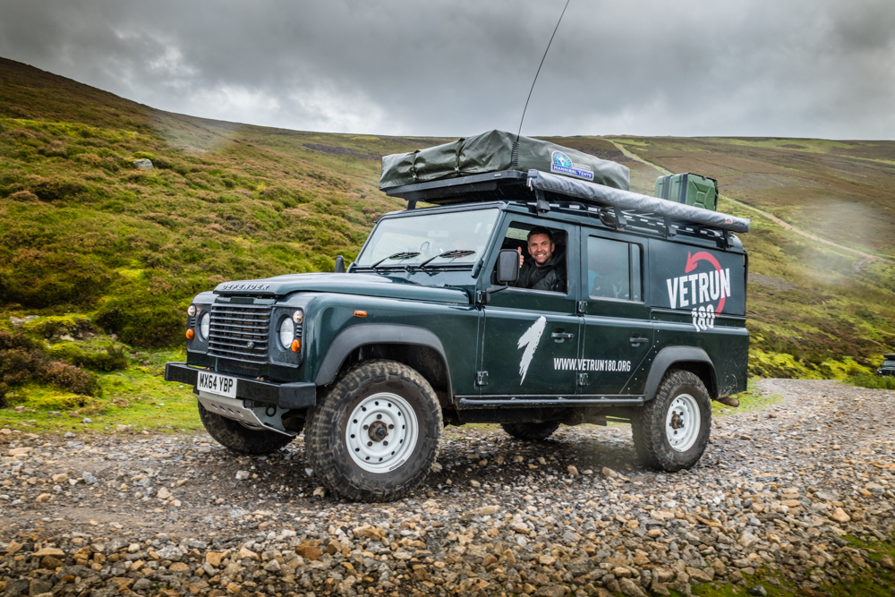 Scottish Land Rover Expedition with Sandgrouse Travel - VetRun180 Scotland Coast to Coast Expedition - Land Rover Trip
