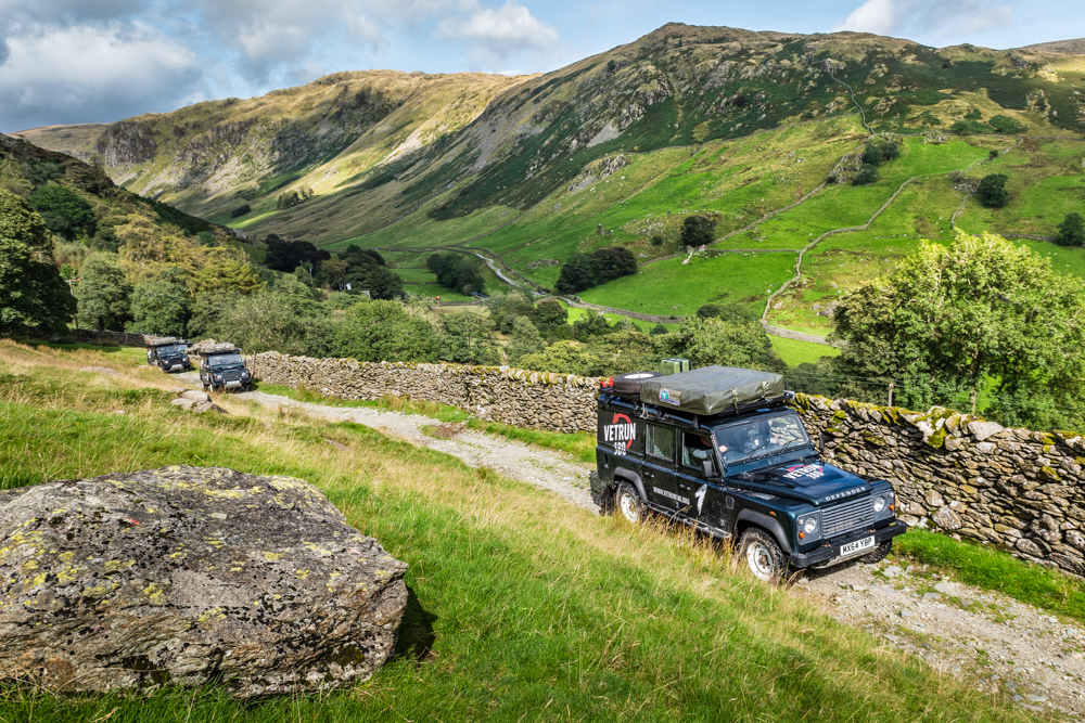 VetRun180 - Invictus Game Military Charity Scottish Highlands - Sandgrouse Travel & Expeditions Land Rover Veterans