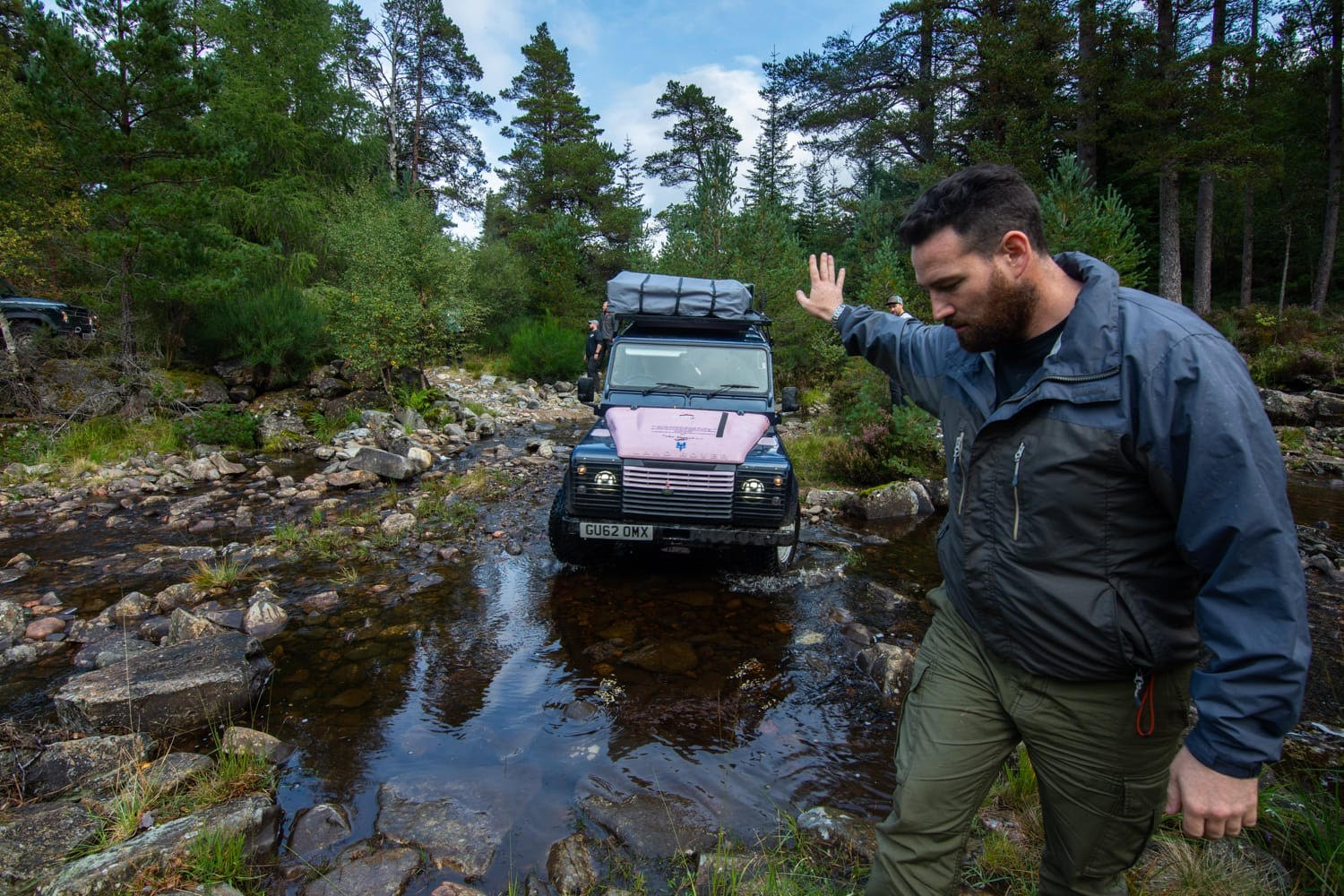 Land Rover Expeditions VetRun180 - Veterans Support Sandgrouse Travel