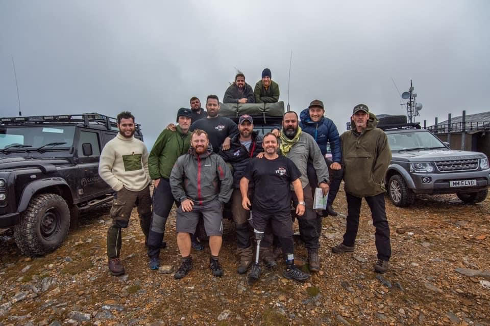 3,000ft up in the Cairngorms with VetRun180 - veteran support through Adventure therapy