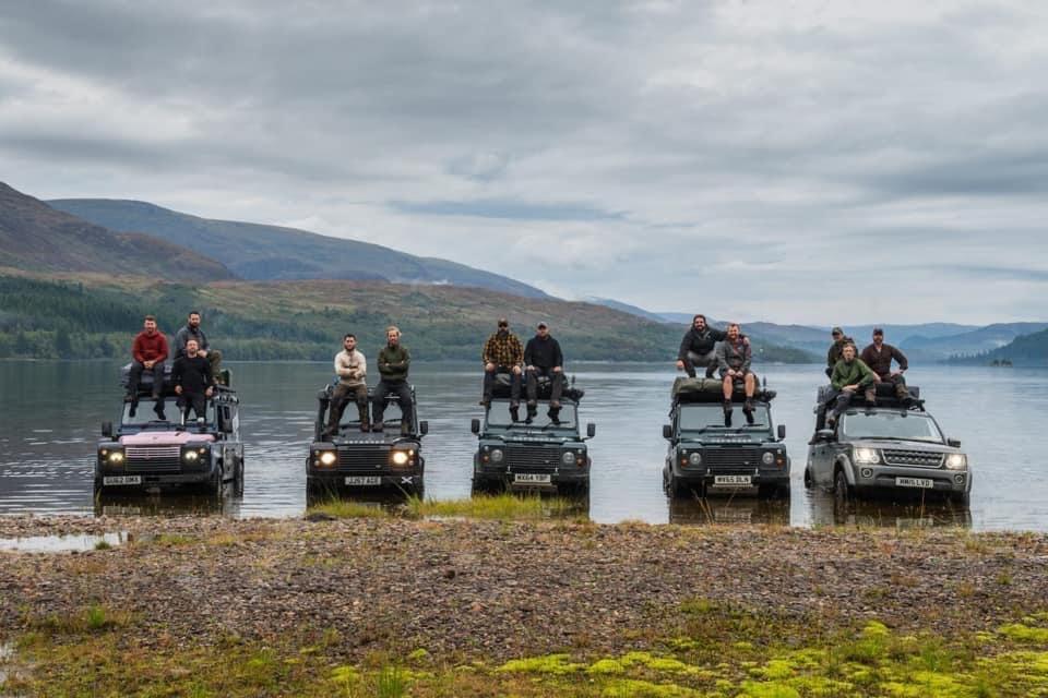 Scottish Land Rover Trip - Coast to Coast with Iraq & Afghan Veterans - British Army & Royal Marine Commandos