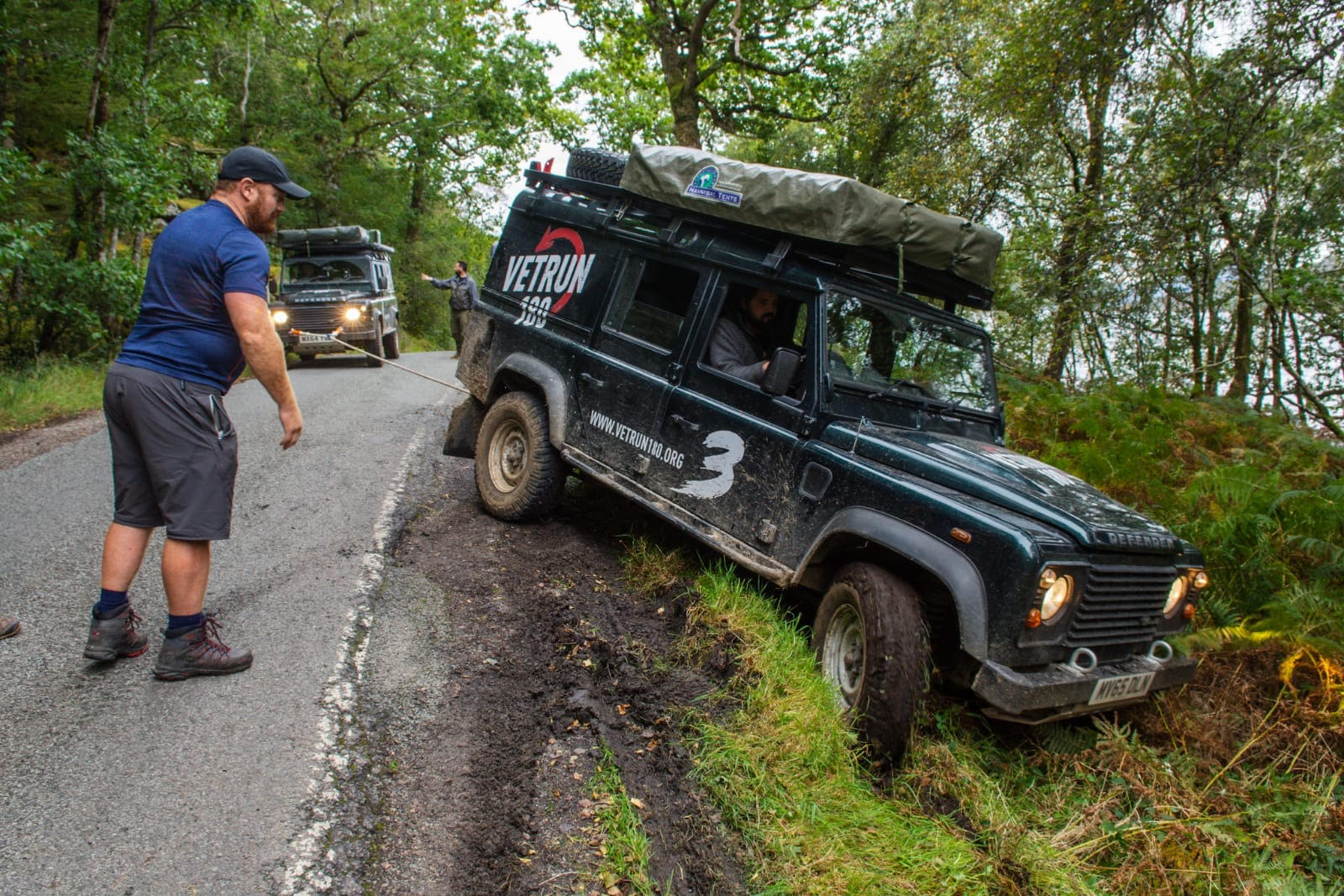 Overcoming challenges together as a team - VetRun180 & Sandgrouse Travel & Expeditions